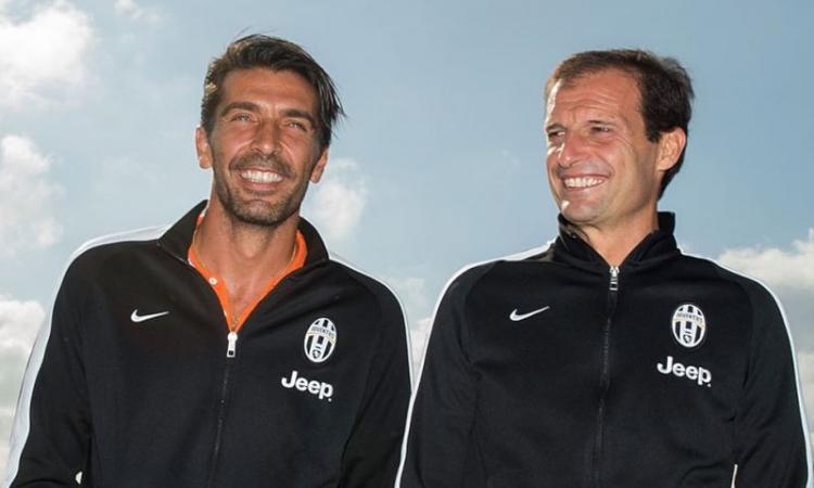 Juve, Allegri e Buffon parleranno in conferenza stampa