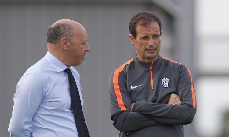 Juventus: oggi incontro con Allegri