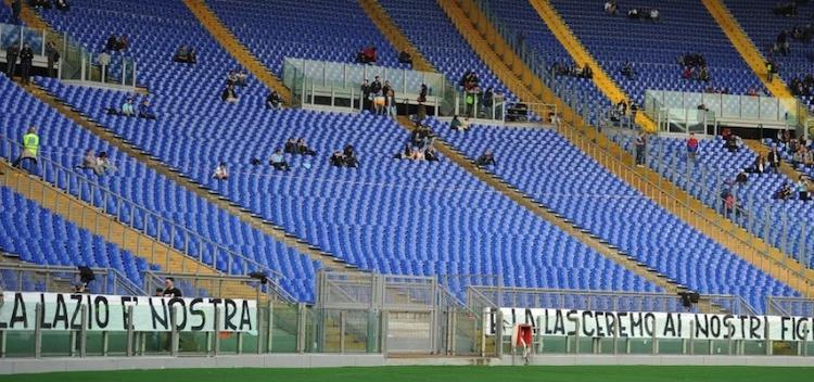 Lazio, contro l'Atalanta snodo Champions ma l'Olimpico sarà vuoto?