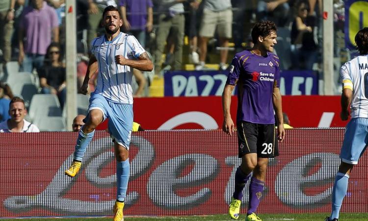 Fiorentina-Lazio 0-2: GOL E HIGHLIGHTS
