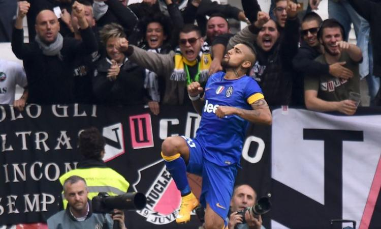 Vidal e Llorente, Juve a +3 sulla Roma