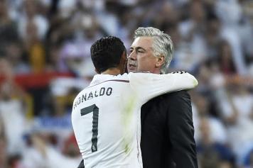Ancelotti Real Ronaldo