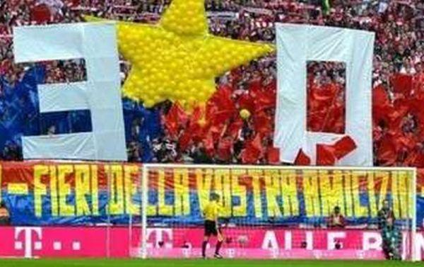 Cose che fanno bene al calcio: gemellaggio fra tifosi del Bayern Monaco e della Civitanovese, fratelli di sport