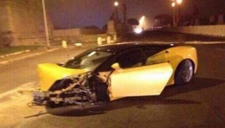 Lazio: Keita si schianta in auto all'alba