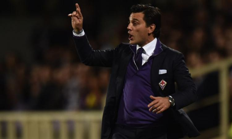 VIDEO Fiorentina, Montella: 'Io al Milan? Meglio si parli di Sarri. Babacar? Deve capire cosa fare col suo talento'