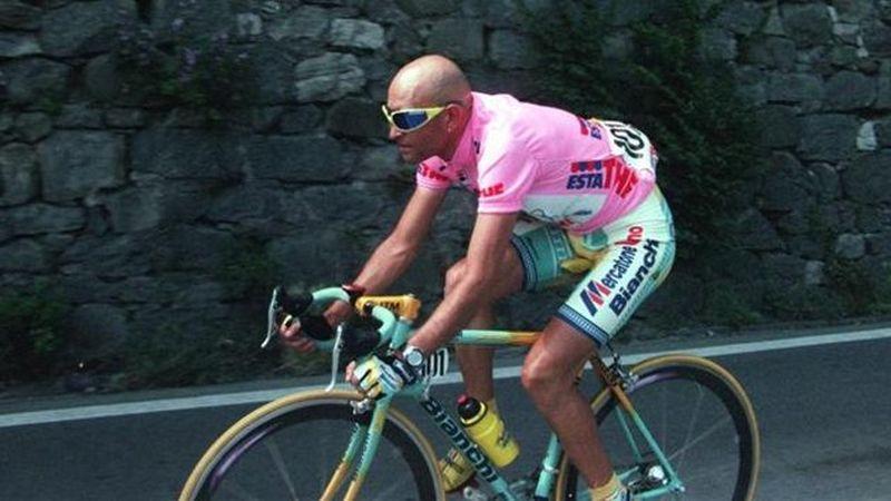 Scatto di Pantani!