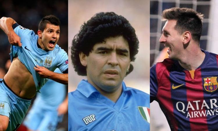Le Classifiche di CM: argentini d'Europa, la top 10. Diego, Messi, il Kun. E poi?