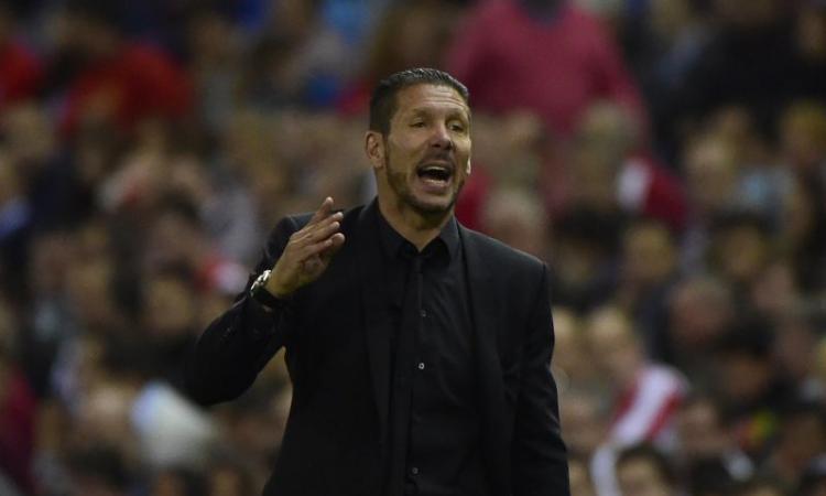 Atletico, Simeone: 'Grande primo tempo. Sono giovane, un giorno andrò all'Inter'