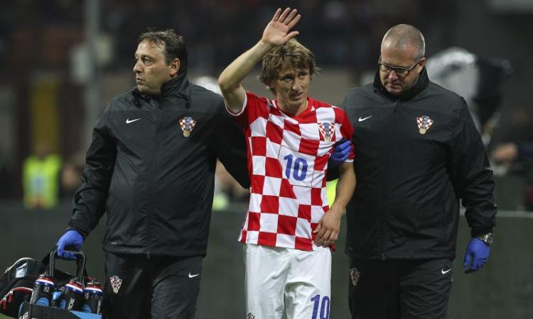 Real Madrid, UFFICIALE: lesione per Modric