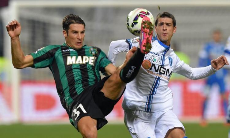 Sassuolo, primo gol di Peluso in stagione
