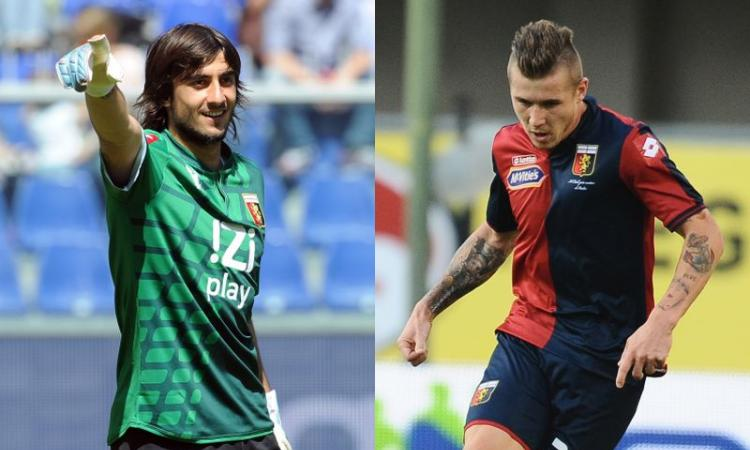 Milan, asse col Genoa per Perin e Kucka