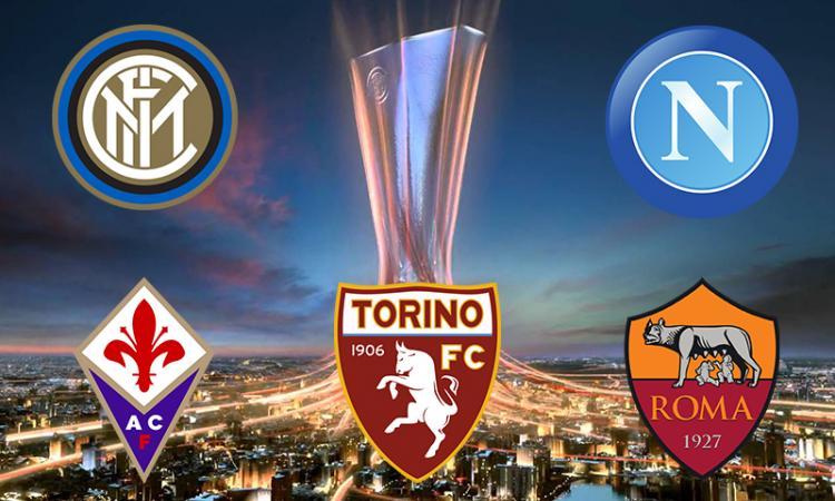 VIDEO sorteggio Europa League: Fiorentina-Roma, Zenit-Toro, Wolfsburg-Inter, Napoli-Dinamo Mosca