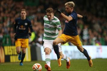 Forrest (Celtic) e Kampl (Red Bull Salisburgo)