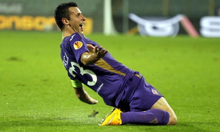 Fiorentina, venerdì Kalinic e Pasqual incontrano i tifosi