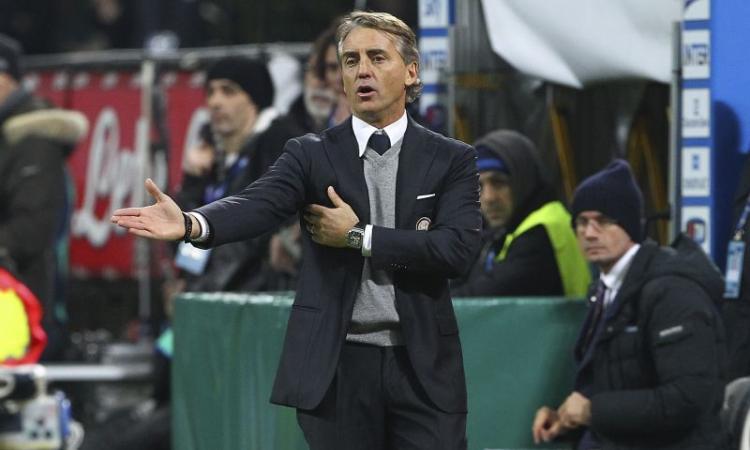 VIDEO Inter, Mancini: 'Rammaricato perché potevamo vincere. Spero nell'arrivo di Shaqiri'
