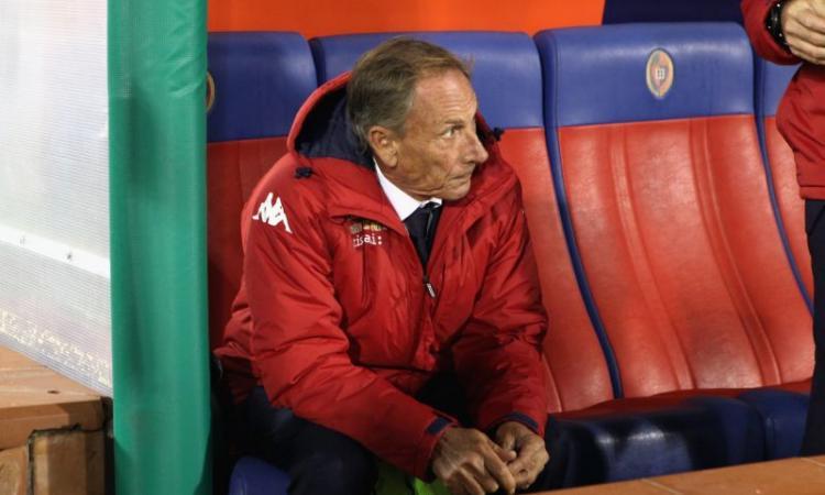 Cagliari, Zola a rischio: può tornare Zeman