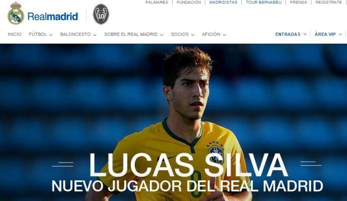 Real Madrid, UFFICIALE: arriva Lucas Silva