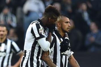 Pogba e Vidal, Juventus