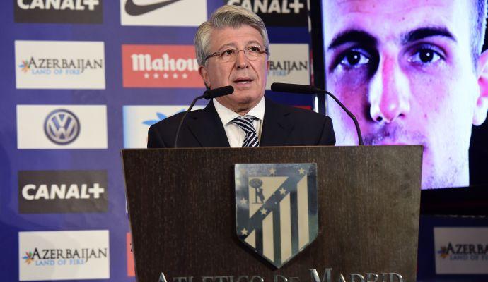 Pres. Atletico Madrid: 'Simeone ha un contratto lungo'