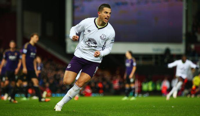 Everton, Martinez: 'Mirallas ha ancora due anni di contratto'