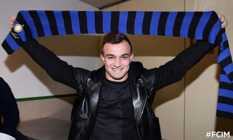 UFFICIALE: Inter, preso Shaqiri! Lo svizzero è a Milano: 'Pronto per giocare'
