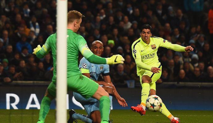 Manchester City, offerta folle per Suarez