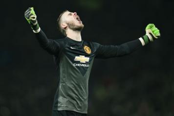 De Gea Manchester United urlo