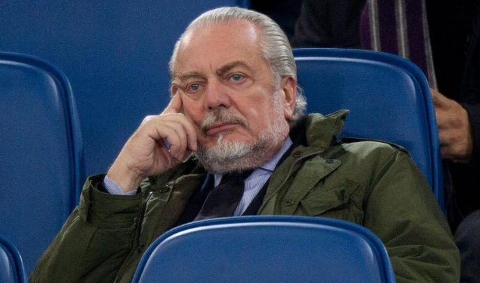 De Laurentiis: 'Napoli in ritiro. Turbato da Calciopoli, servono arbitri stranieri'