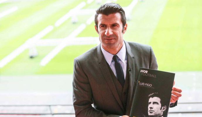 Figo punge l'Inter: 'Se spendi 100 milioni non puoi essere contento dell'Europa League'