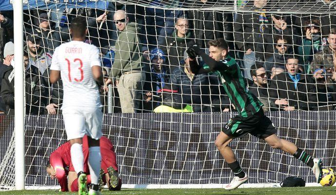 Crollo Inter, vince il Sassuolo 3-1: è crisi