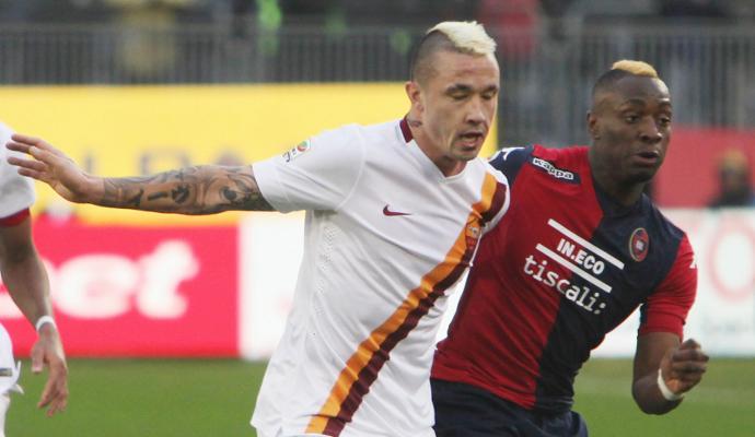 Roma, Nainggolan: 'Il Chelsea? Leggo sui giornali, sono felice qui'