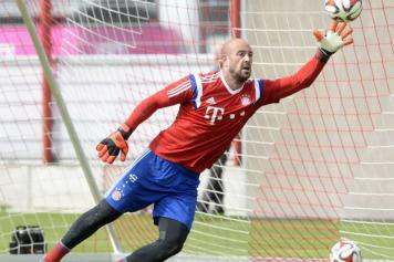 Reina Bayern allenamento