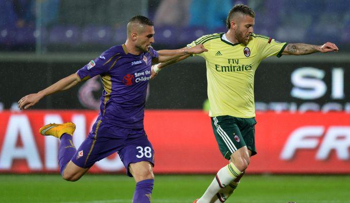 Fiorentina-Milan 2-1: GOL E HIGHLIGHTS