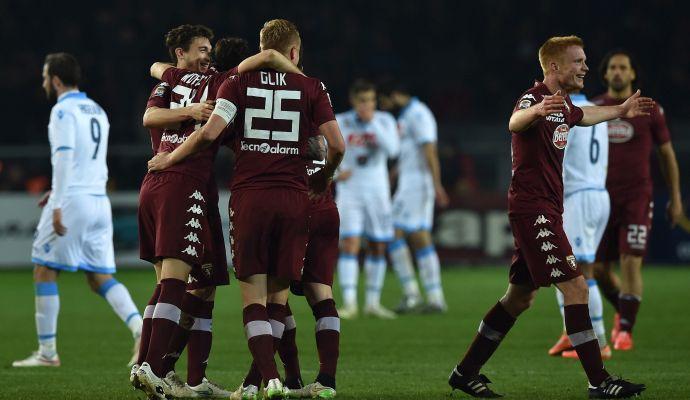 Serie A: vola la Lazio, vince la Samp. Il Toro non si ferma più: 1-0 al Napoli