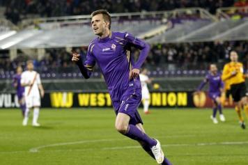 Ilicic Fiorentina Roma