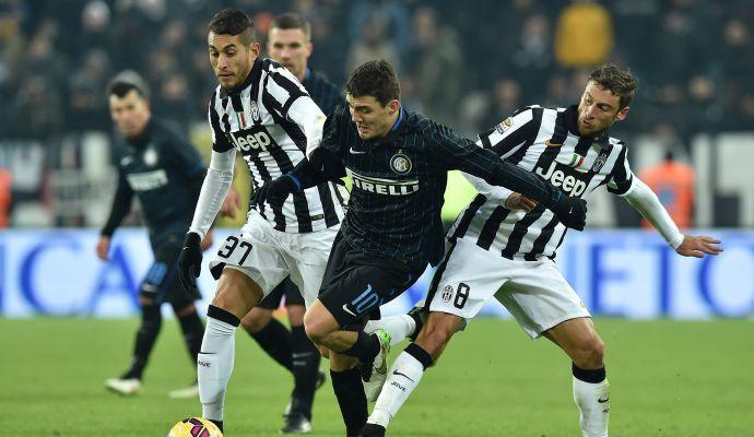Alla Juve lo Scudetto dell'audience: più vista la sfida con l'Inter