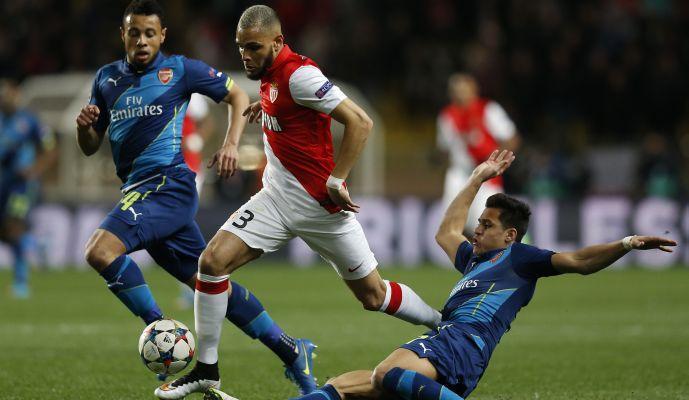 Monaco-Arsenal 0-2: il tabellino