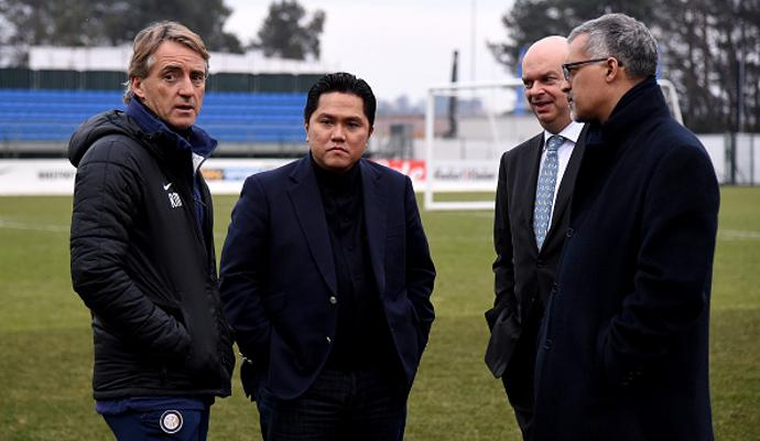 Inter: Thohir nero, Mancini imputato