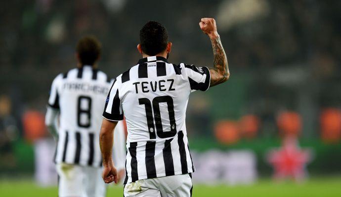 Tevez, un altro grande dieci a Dortmund