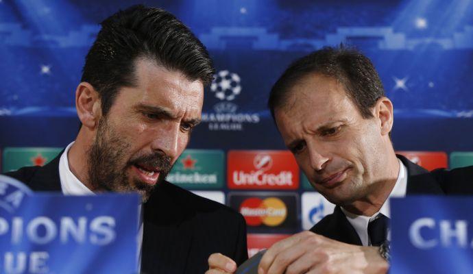 Buffon: 'In Champions dopo Barça e Bayern c'è la Juve'. Sei d'accordo?