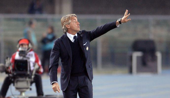 Inter, Mancini: 'Il derby può rilanciarci. Gnoukouri avrà un grande futuro. Spiace non avere Guarin e Brozovic'