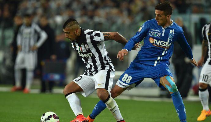 Juventus-Empoli 2-0: il tabellino