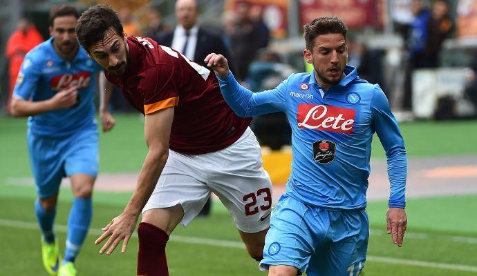 Mertens: 'Voglio restare al Napoli'