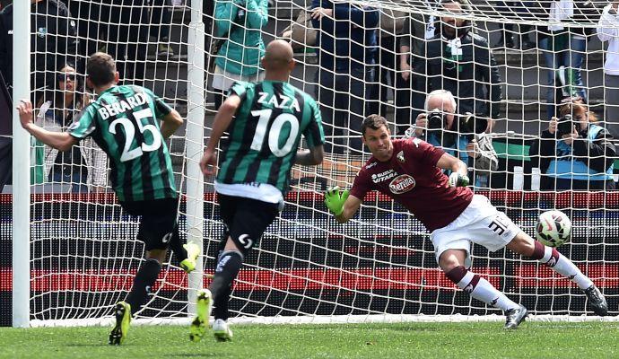 Sassuolo-Torino 1-1: il tabellino