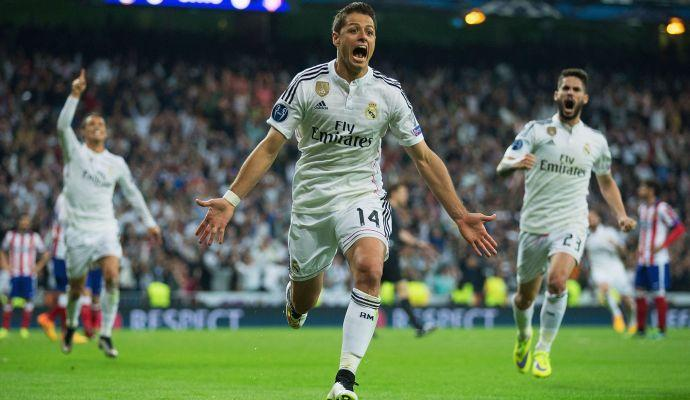 Il Chicharito elimina l'Atletico Madrid