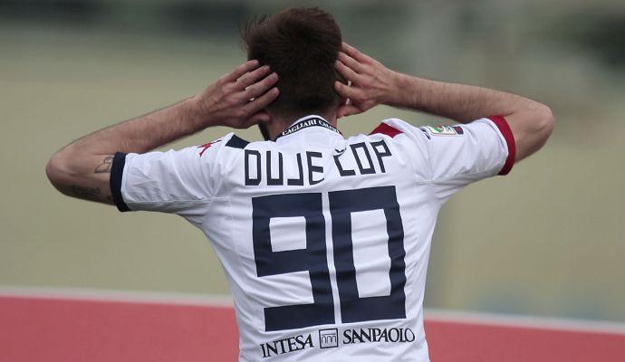 Cagliari, un attaccante in uscita