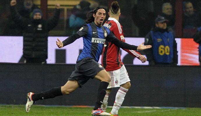Inter, l'ex Schelotto ci crede: 'Mai arrendersi!' E posta la FOTO del gol nel derby