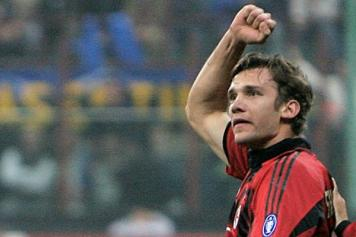 Shevchenko Milan Inter