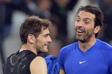 Casillas e Buffon