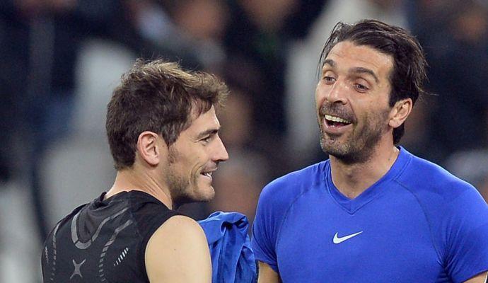 Buffon in lacrime, Casillas: 'Non mi piace vederti così, leggenda'